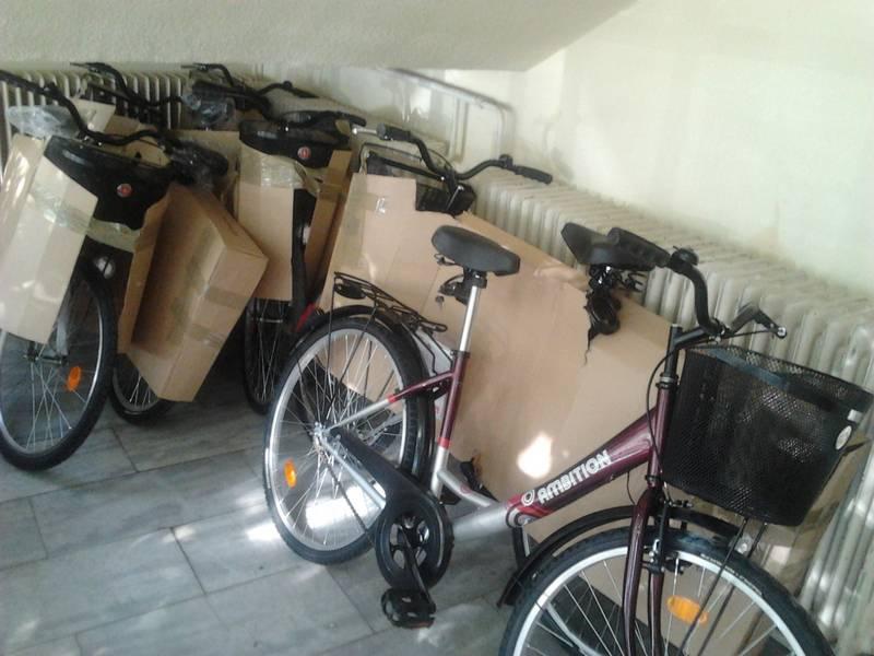 Kerékpárok Kecskeméten 2
