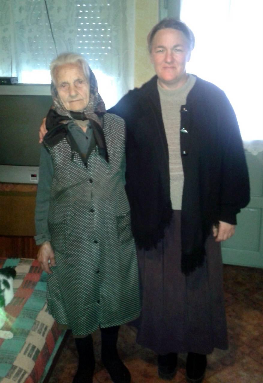 90 éves ellátottunkat köszöntöttük