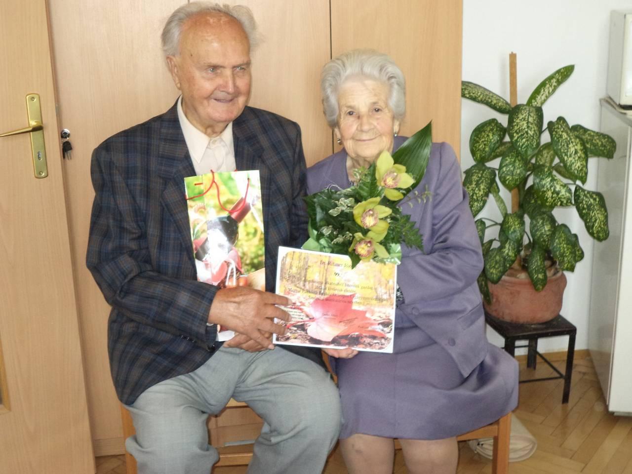 Egy híján száz – 99 éves ellátottunk születésnapját ünnepeltük