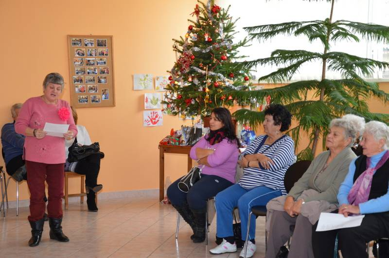 Idősek Karácsonya baráti társaságban 2