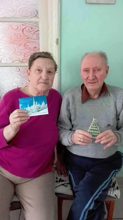 Karácsonyi ajándék ellátottaknak Mezőkövesden 2