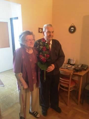 60. házassági évfordulót ünnepeltünk 1