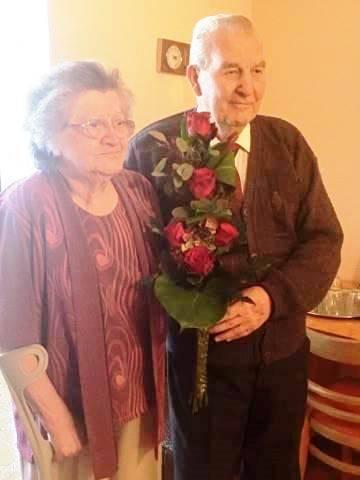60. házassági évfordulót ünnepeltünk 2