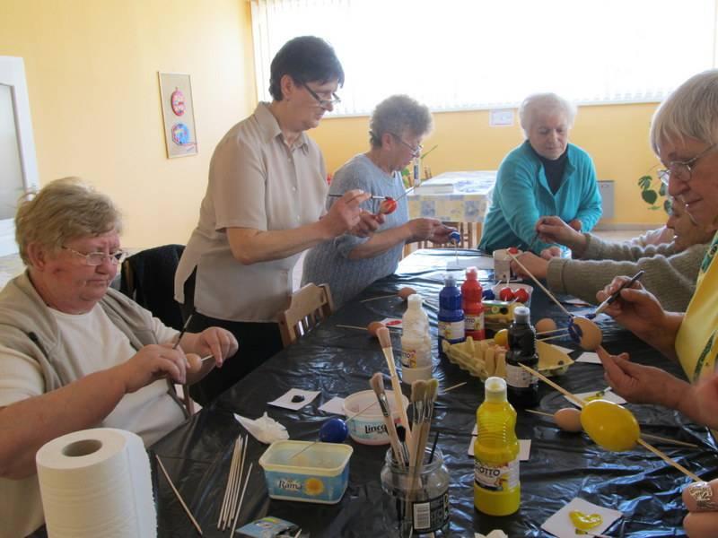 Kézműves foglalkozás a Nappali Ellátóban 2