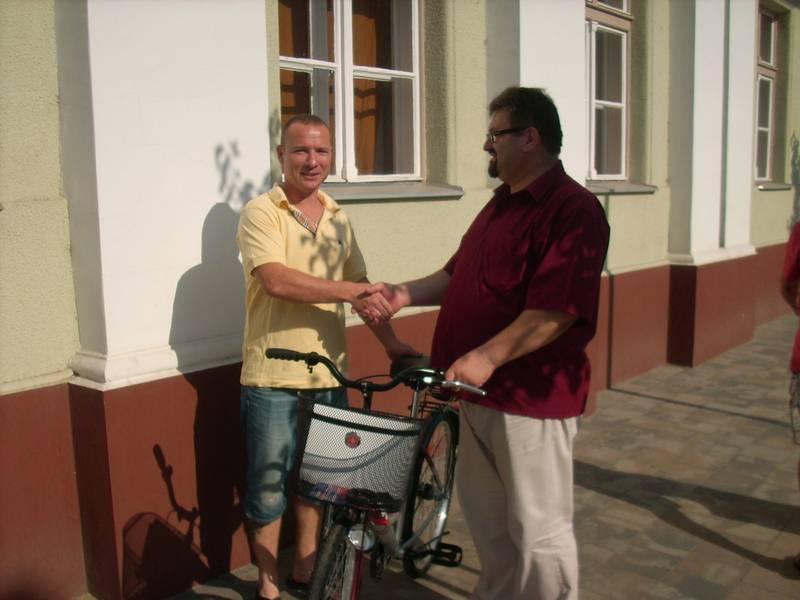Új kerékpárok a berettyóújfalui munkatársaknak 2
