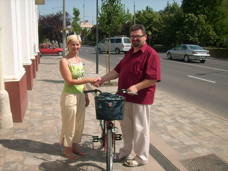 Új kerékpárok a berettyóújfalui munkatársaknak 1