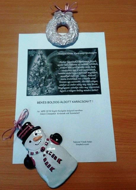 Mezőkövesdi ellátottaink karácsonyi köszöntése 4