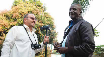 Kamerával afrikai misszióban
