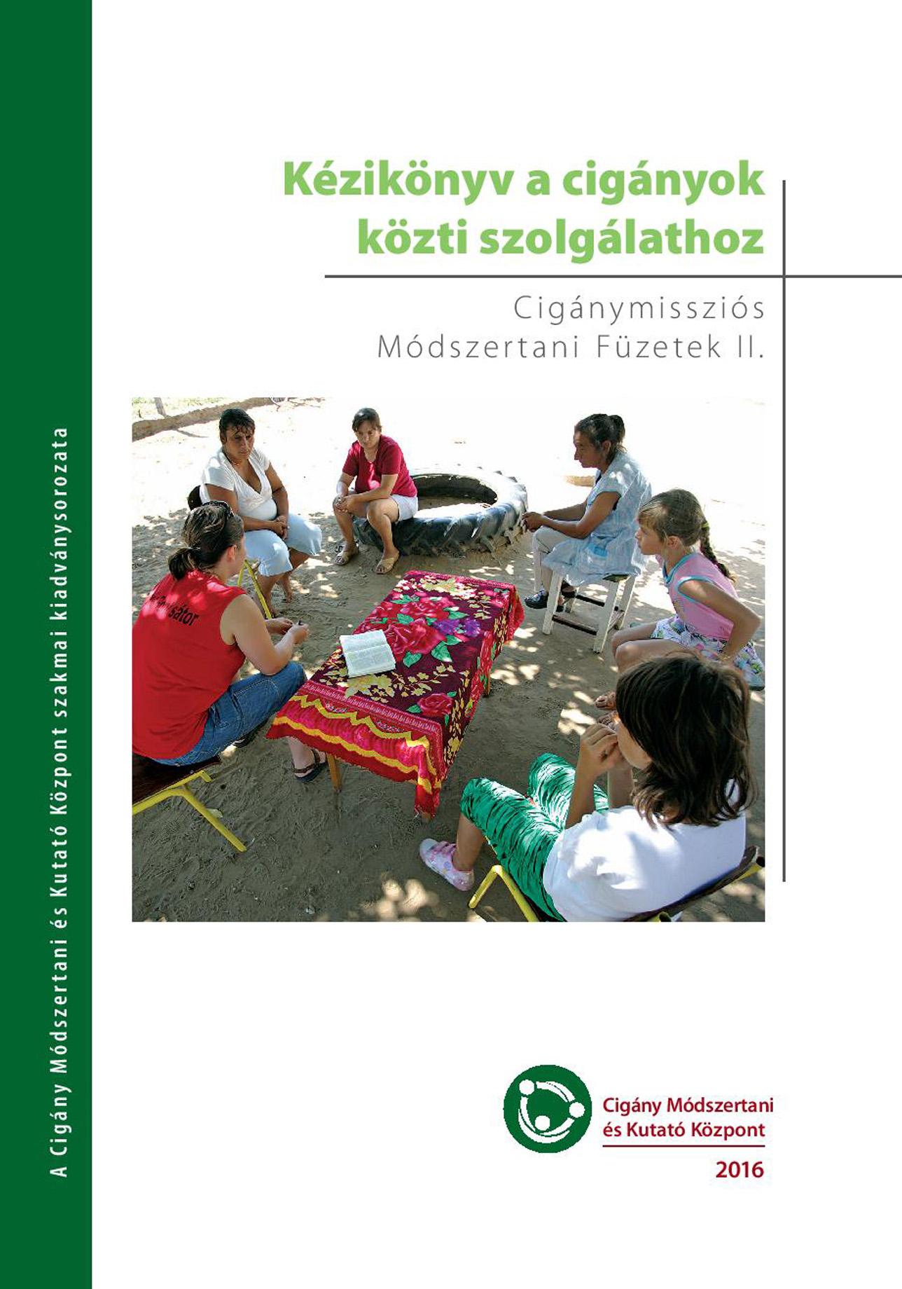 Cigánymissziós Módszertani Füzetek II. könyvbemutató