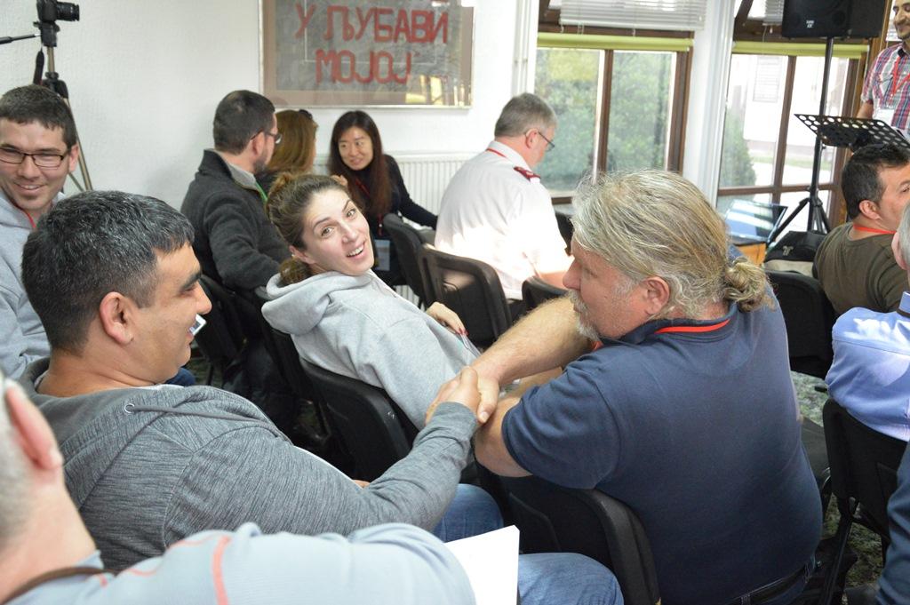Roma Networks ország-képviselők találkozója Belgrádban 13