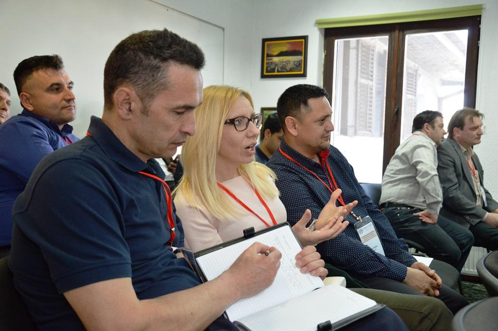 Roma Networks ország-képviselők találkozója Belgrádban 14