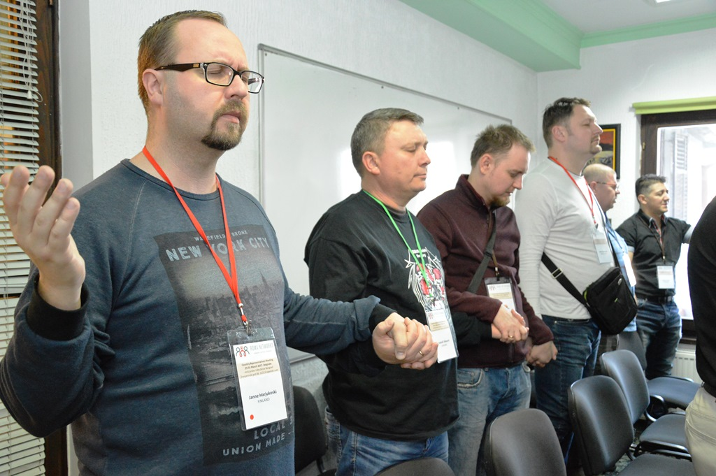 Roma Networks ország-képviselők találkozója Belgrádban 16