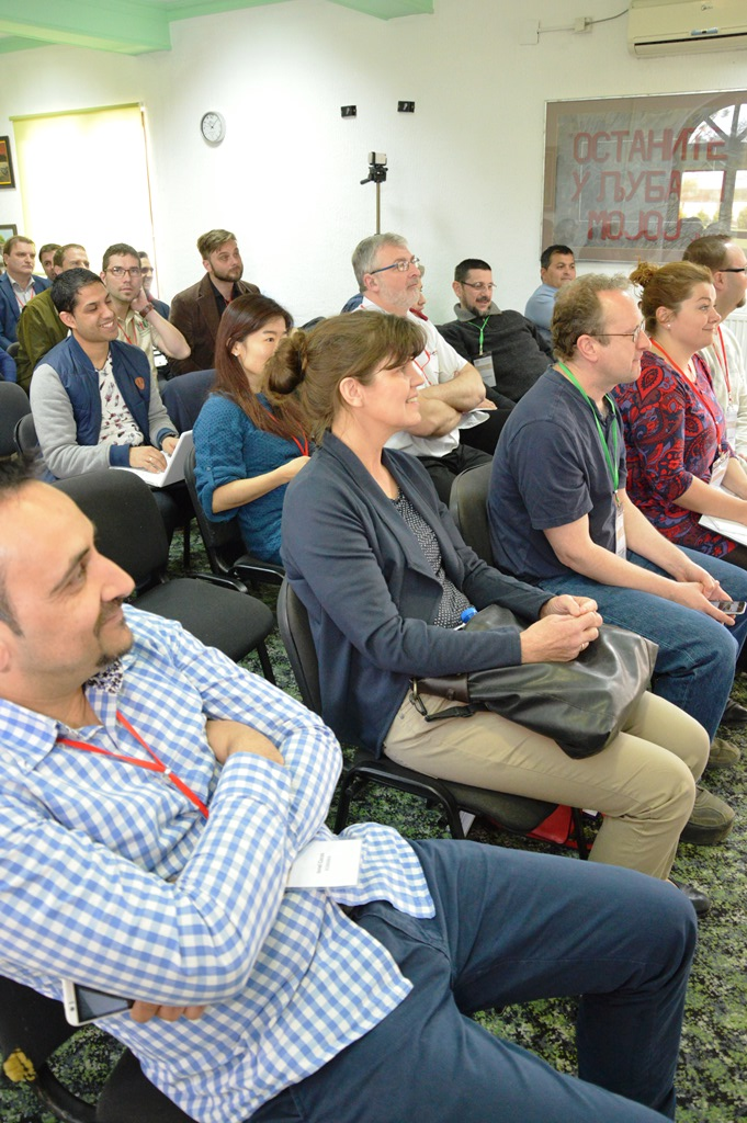 Roma Networks ország-képviselők találkozója Belgrádban 19