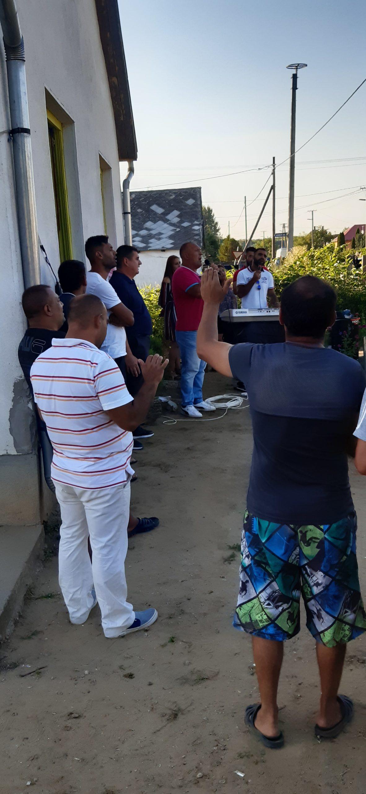 Evangelizációs alkalom Nyírpilisen 5