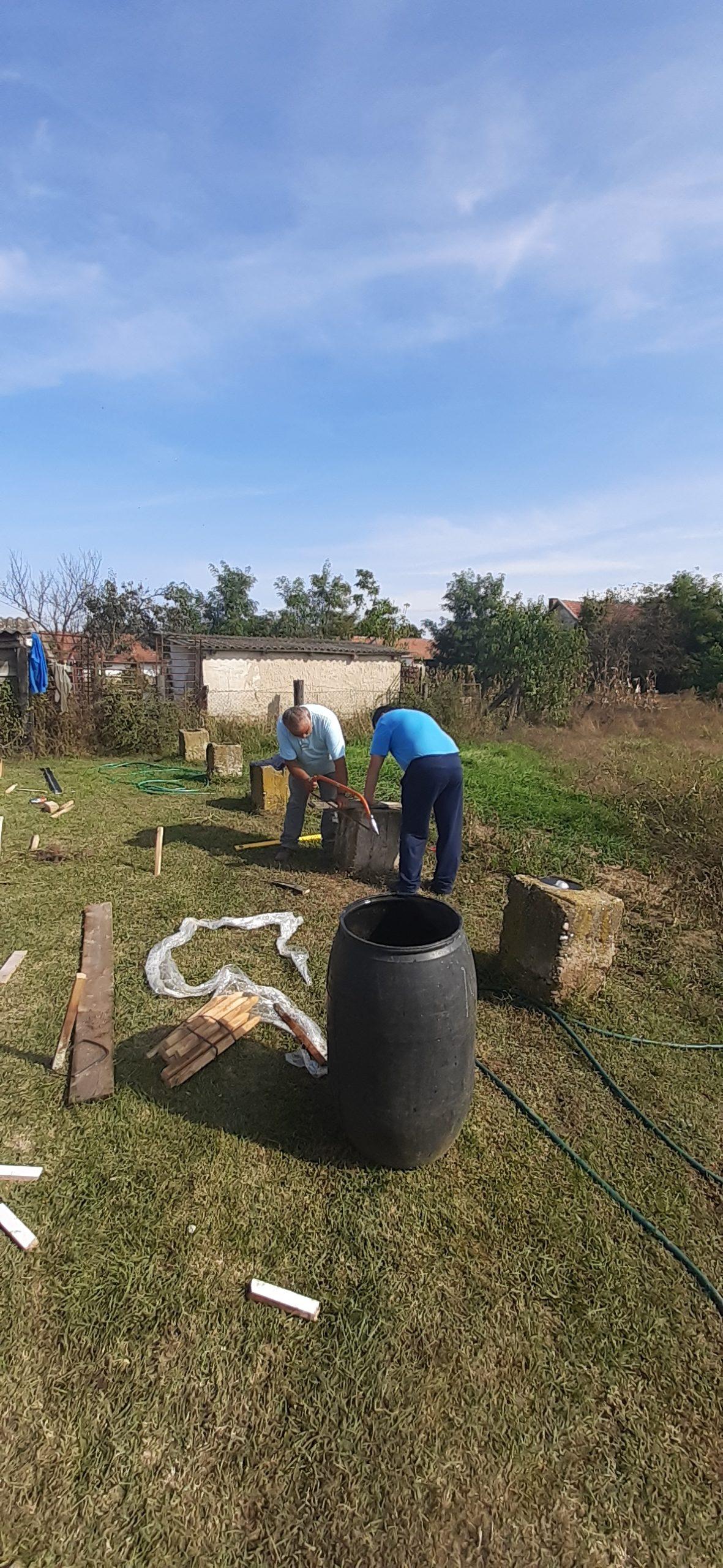 Raktárt épít és gyülekezetet újít fel a Nyírvasvári SZERETETPONT 7
