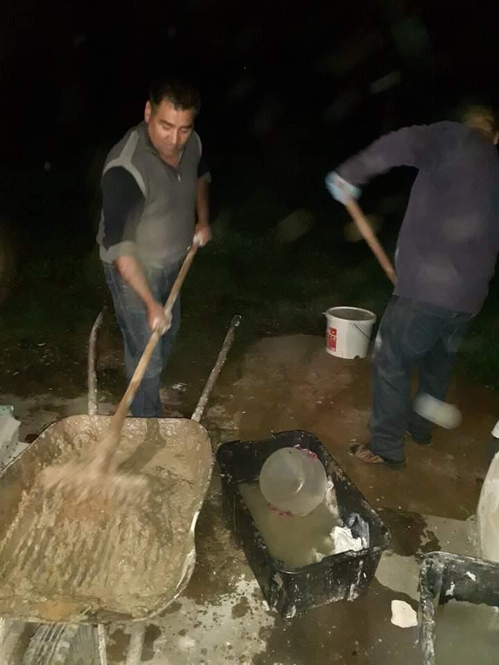 Raktárt épít és gyülekezetet újít fel a Nyírvasvári SZERETETPONT 19