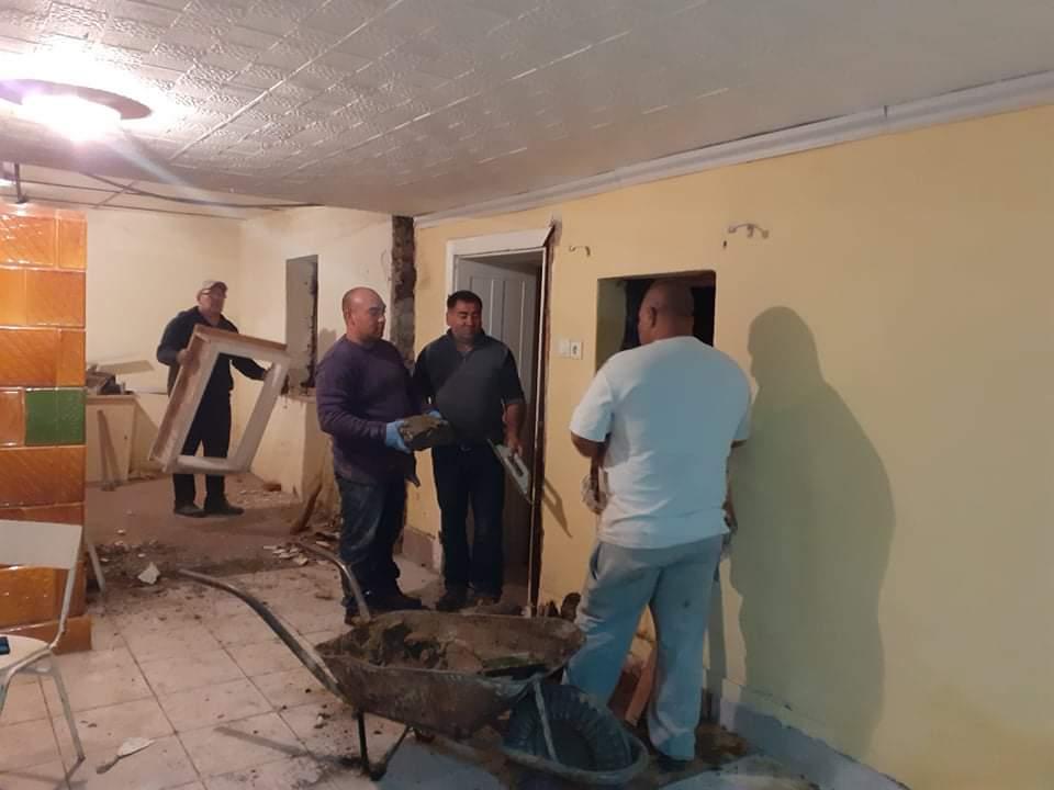 Raktárt épít és gyülekezetet újít fel a Nyírvasvári SZERETETPONT 24