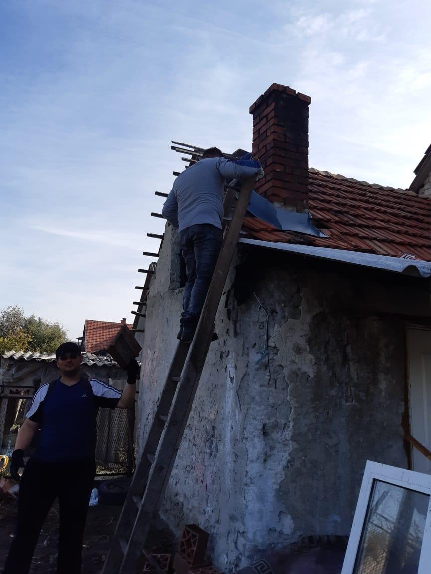 Ismét házat újított fel a Zákányszéki SZERETETPONT - Ezúttal egy kiskunmajsai házaspáron segítettünk 1