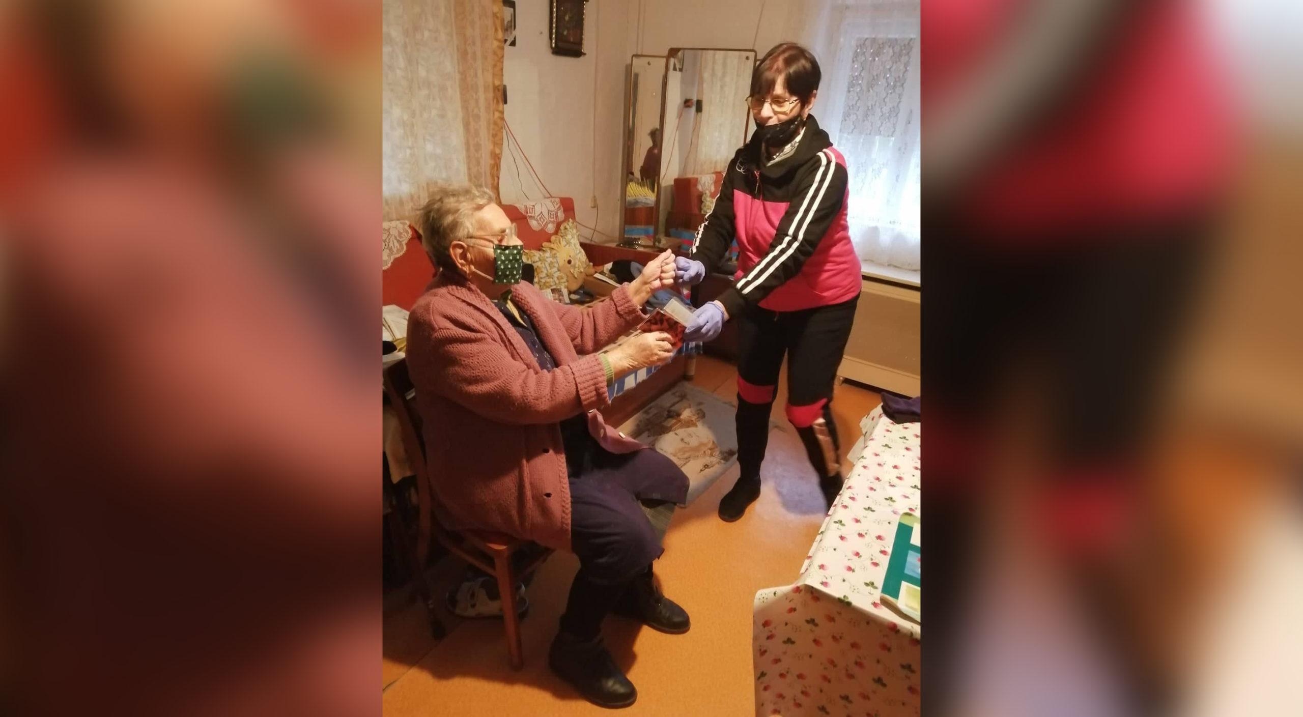 Idősek napi kedvesség Berettyóújfalun