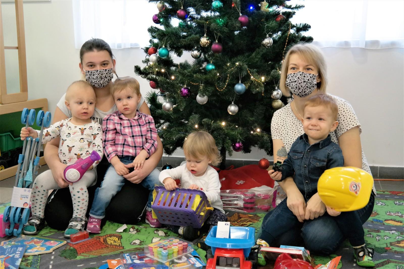 Karácsony az Álom-Vár Bölcsődében