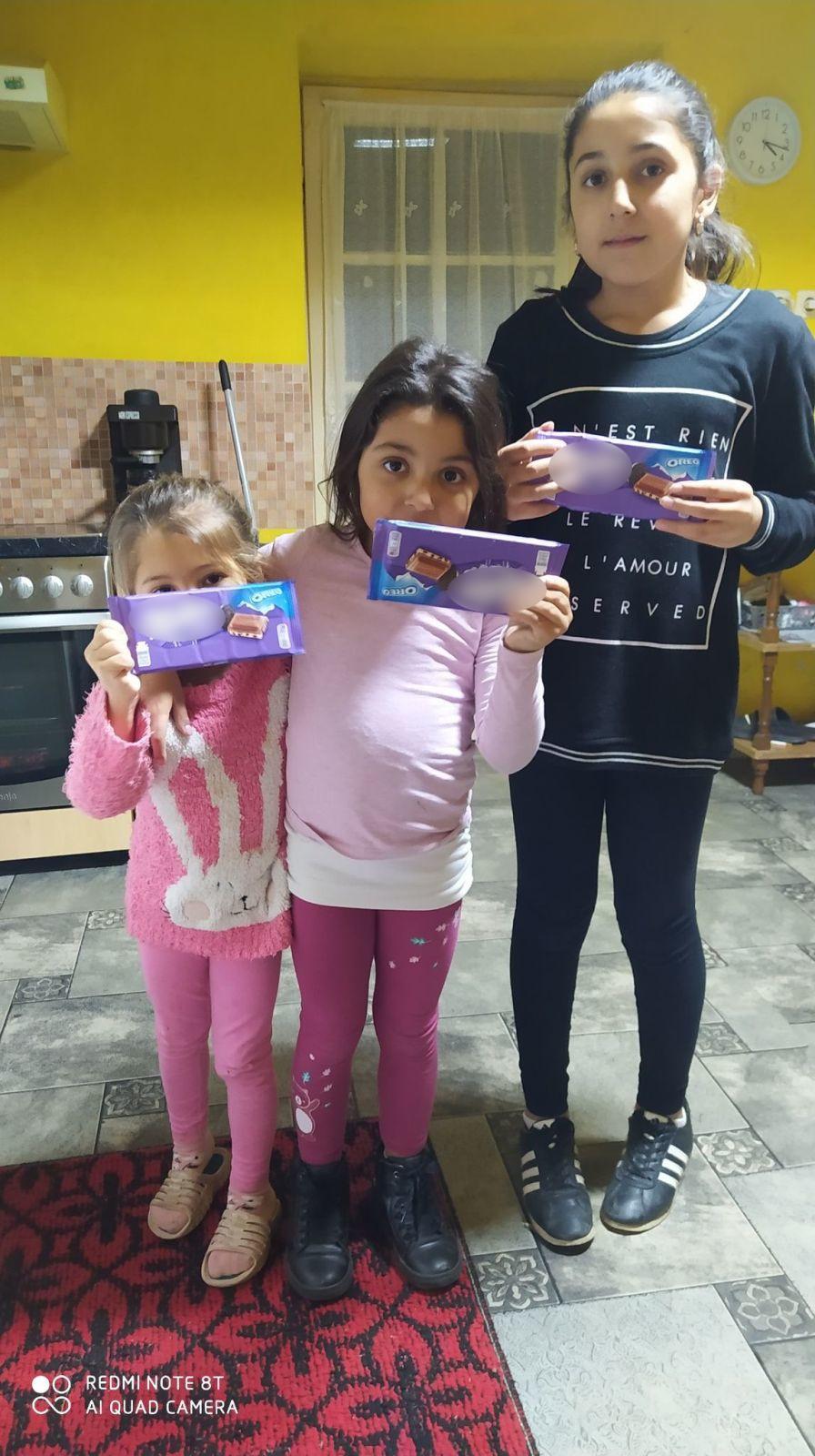 ajándék csoki gyerekeknek