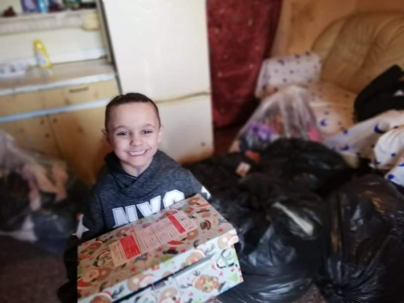 5 gyermekes családon segített a Nyírvasvári SZERETETPONT