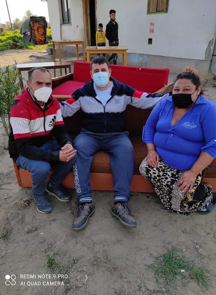 Bútorokat és televíziókészülékeket osztott a Nyírvasvári SZERETETPONT rászoruló családoknak