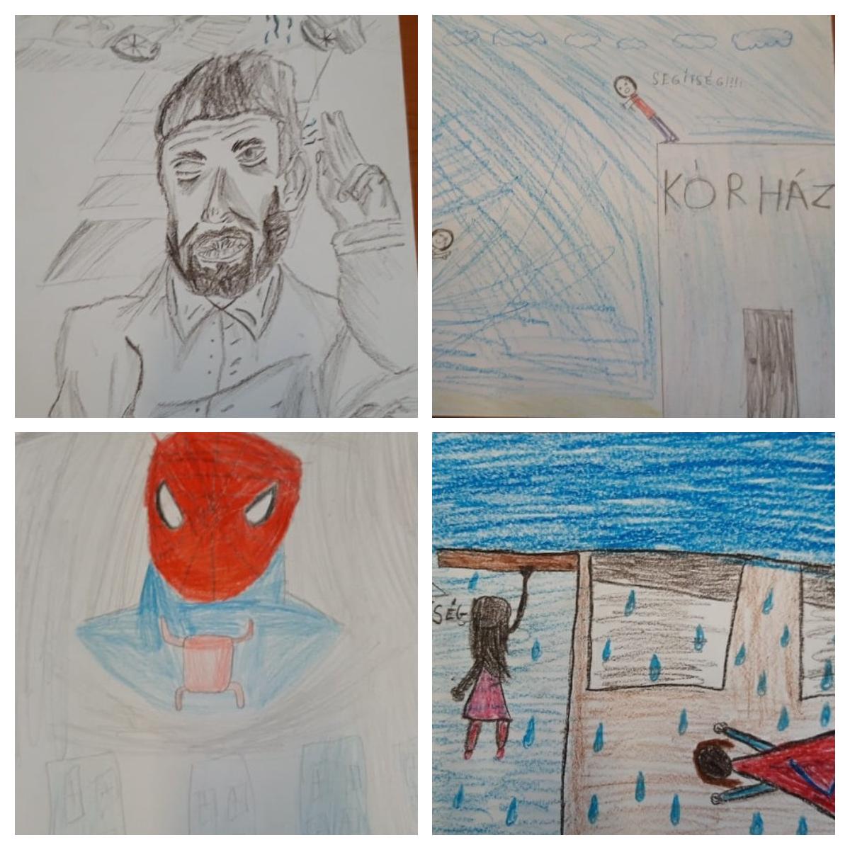 """""""Ha én szuperhős lennék…"""" rajzpályázat 6"""