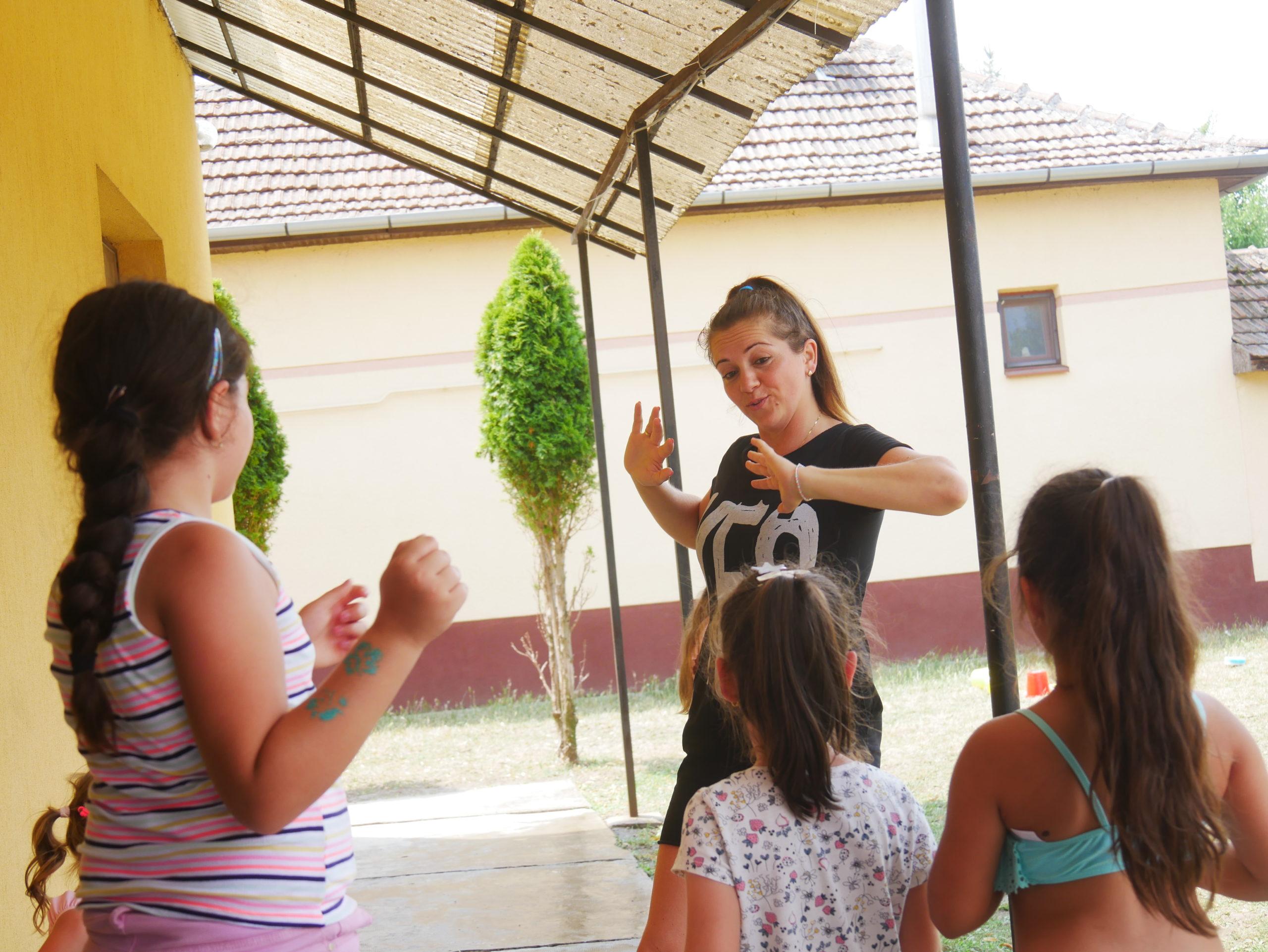 Napközis gyerektábor Kétegyházán 14