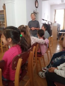 Író-olvasó találkozón a Reményhír diákjai 4
