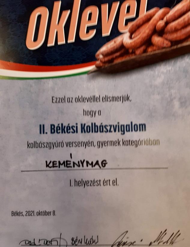 """I. helyezett lett a Reményhír """"Keménymag"""" csapata a kolbászgyúró versenyen! 11"""